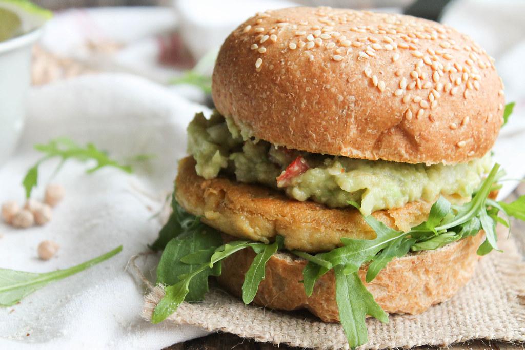 Veggie burger maison