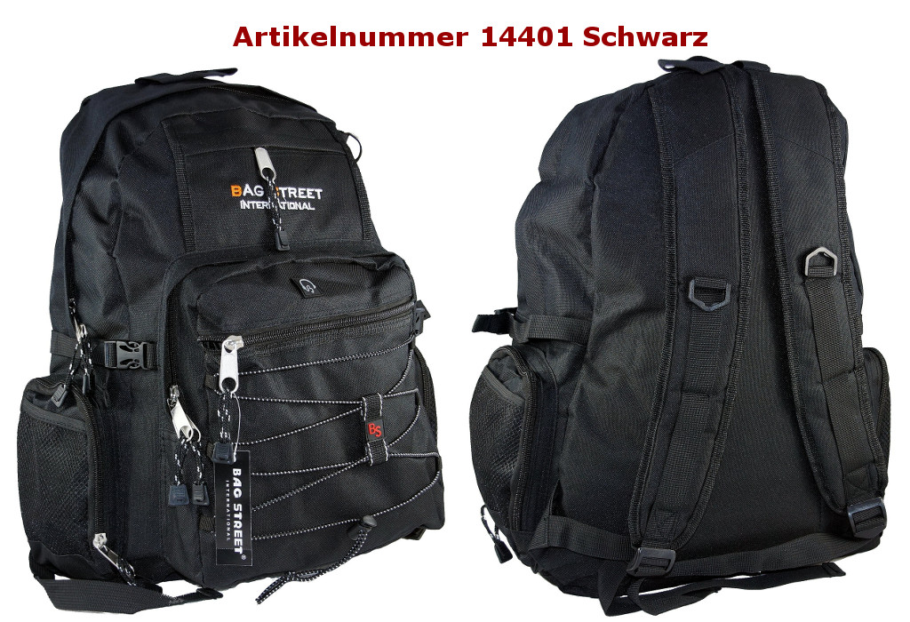 Rucksack 14401 Schwarz