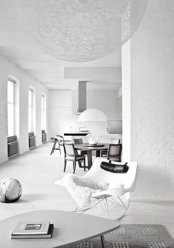 Deco: All white everything