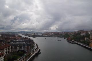 405 Uitzicht vanaf top Puente de Vizcaya