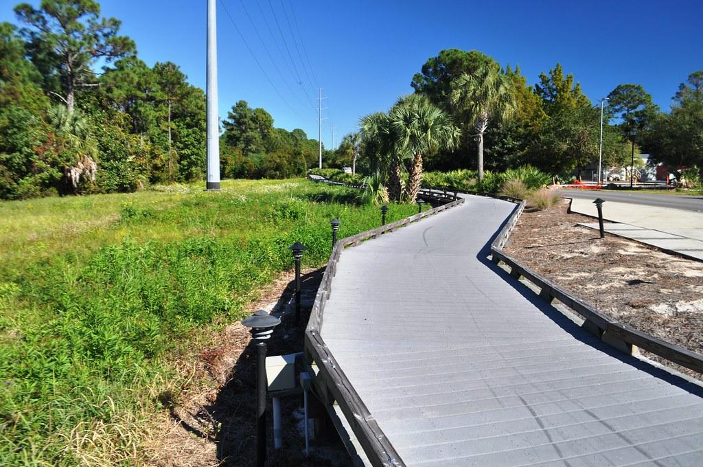 Bike Path at Sandestin Golf and Beach Resort, Florida, Oct. 25, 2014