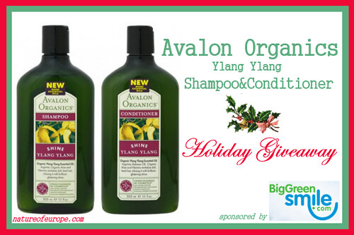 Avalon Organics Ylang Ylang Shampoo and Conditioner Giveaway