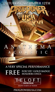 ANATHEMA VIP & Gold Badge show