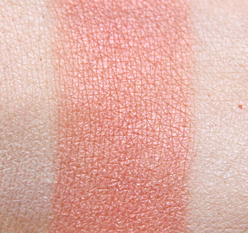 Colorescience coral pressed mineral cheek colore swatch