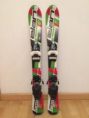 Prodám dětské lyže ELAN, 80cm - titulní fotka