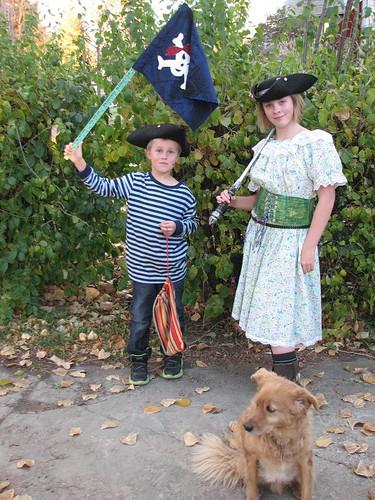 Pirate Family Larsen
