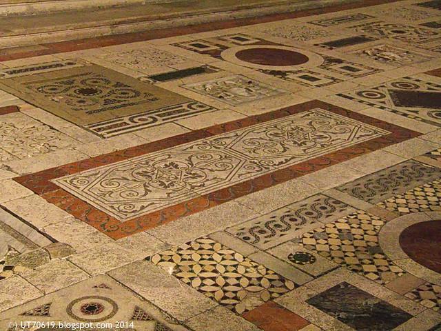 Spoleto -Dom - Fußboden
