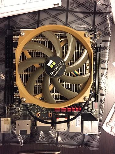 Montage ventirad - fini
