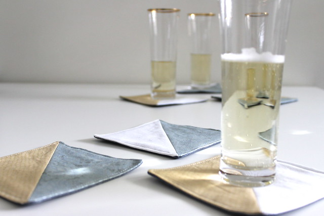 Tutorial: last-minute coasters