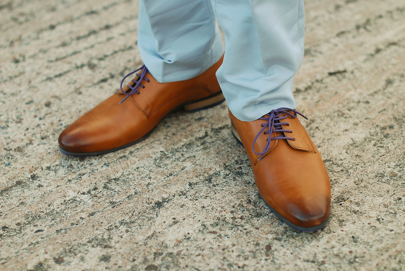 Sta Press Trousers and Derbies
