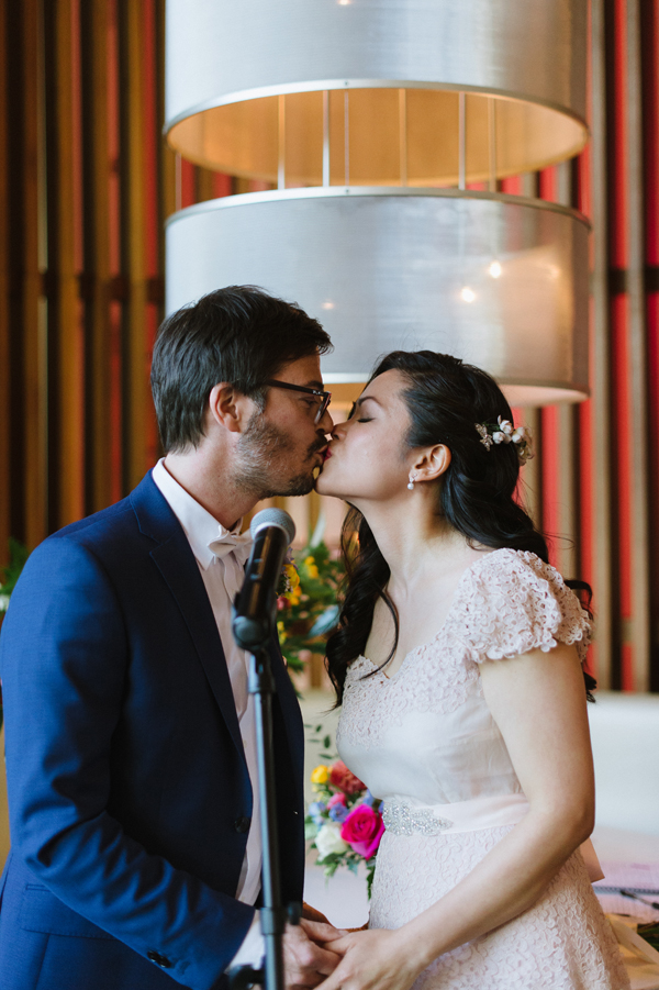 Celine Kim Photography Mildreds Temple Kitchen intimate colorful restaurant wedding Toronto wedding photographer-77