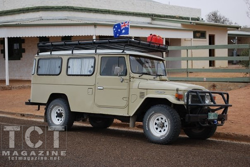 This is the first time I saw her in Birdsville, Queensland parked in front of the Birdsville Pub around 28, June, 2009