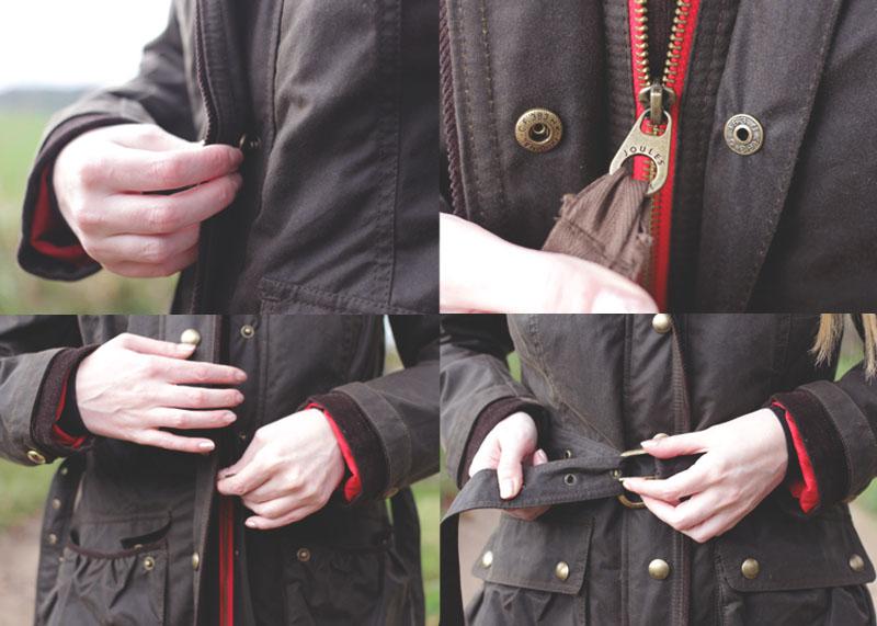 Joules Waxed Coats, Bumpkin Betty