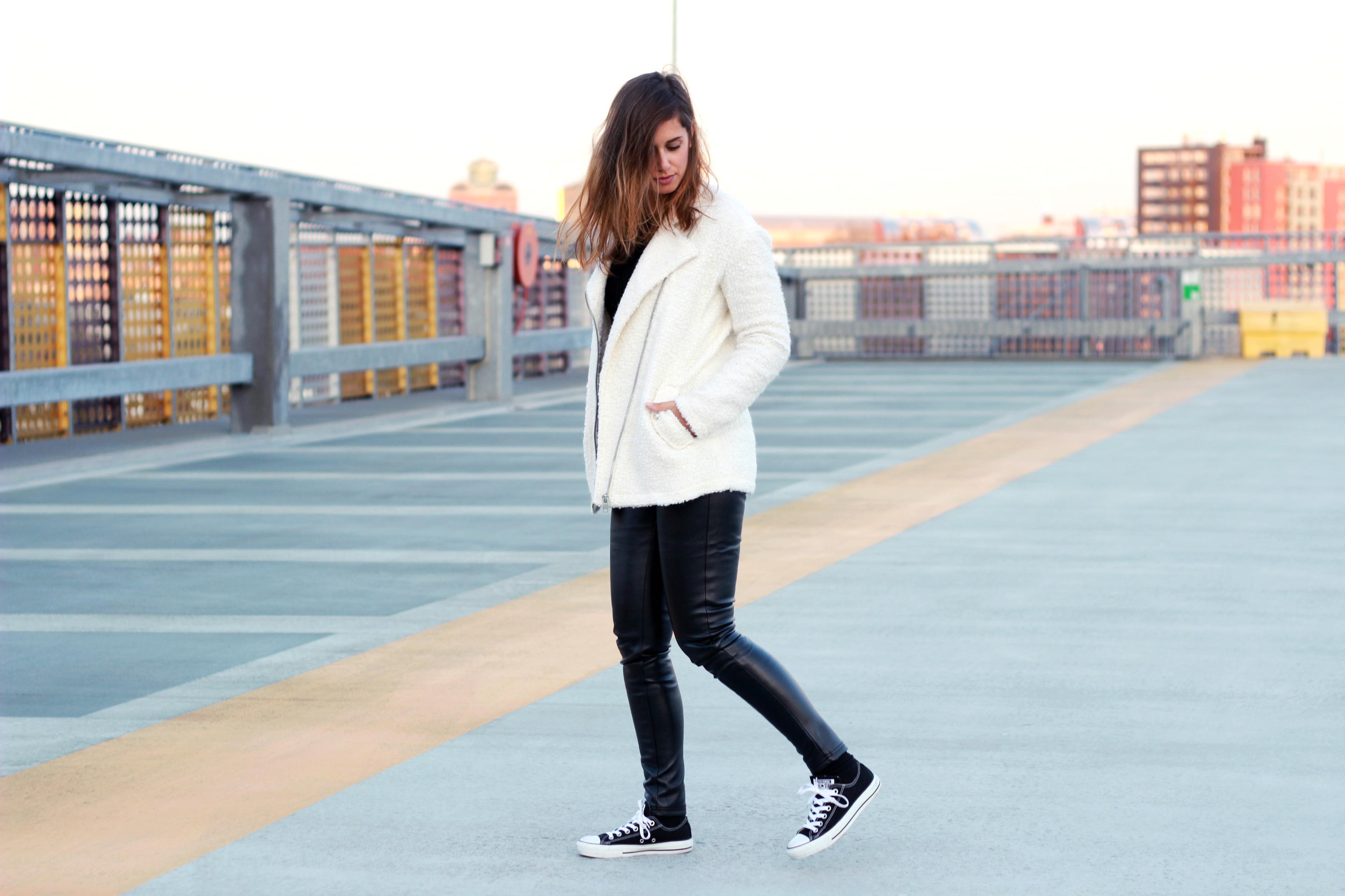Leather-fur-combination-black-and-white-monochrome-cream