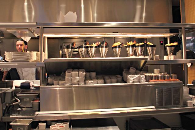 Fries at Gordon Ramsay's BURGR, Las Vegas