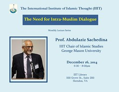 The Need for Intra-Muslim Dialogue