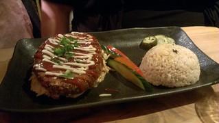Tofu Katsu at Yong Green Food