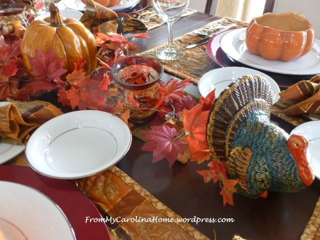 Thanksgiving Tablescape 5
