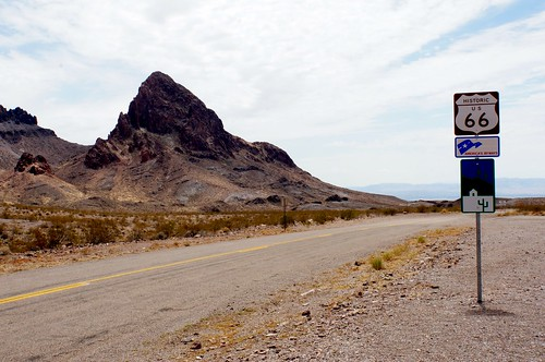 Oatman-Topock Highway (Route 66), Between Oatman and Topock, Arizona
