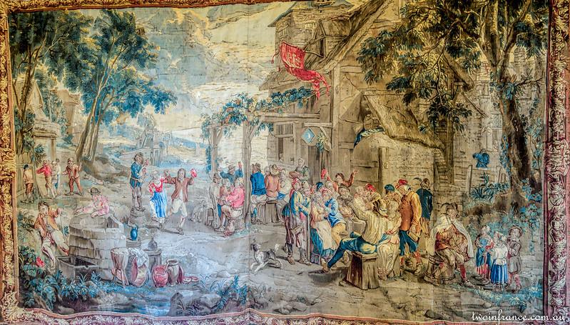 Flemish Tapestries - Château d'Ussé