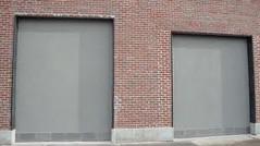 wall, garage door, property, real estate, facade,