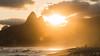 Welcome spring   sunset   Ipanema beach