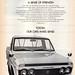 1969 Toyota Hi-Lux Utility Pick-Up International Aussie Original Magazine Advertisement by Darren Marlow