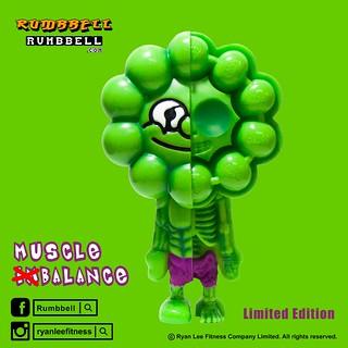 Rumbbell【Muscle (Im)Balance】Green ver. 練到跟浩克一樣就對了!!