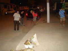Lavado de calles