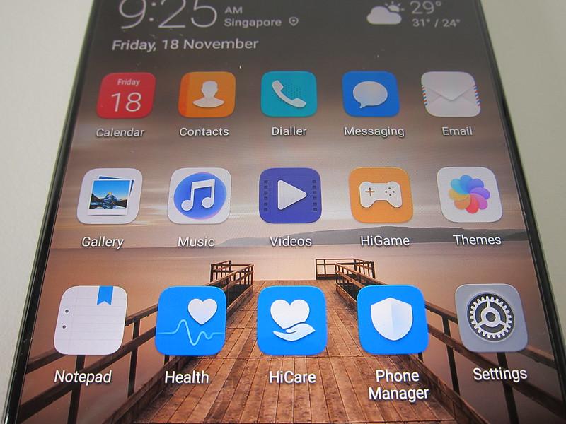Huawei Mate 9 - Side Bezel