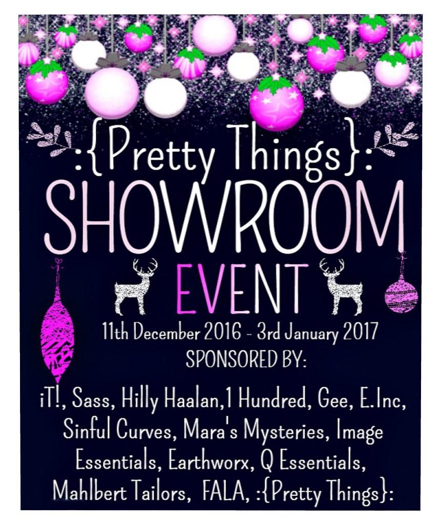 Next coming event @ Pretty Things - SecondLifeHub.com