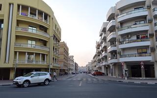 Residential neighborhood in Bur Dubai