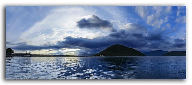 The serene reservoir of Tatipudi, Vizag!