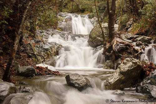 waterfall water river mountain mountainside flow landscape landscapephotography nature outdoor tree forest canonphotography canonusers canon dslr t3i ef35350mmf3556lusm ngc troodos cyprus