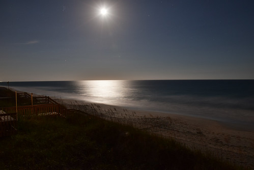 island north carolina moonlight topsail hdr