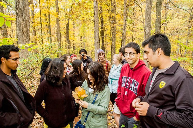 IU Oxfam Club Ecotour - Tecumseh Trail - October 18, 2014