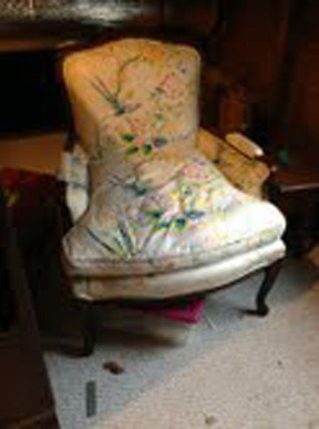 vintage bergere chairs