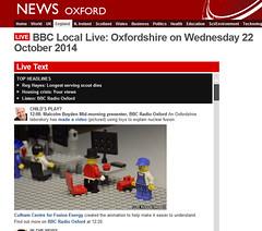 LEGO video on the Radio