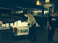 HCAW2014 - Pride Stall on generator