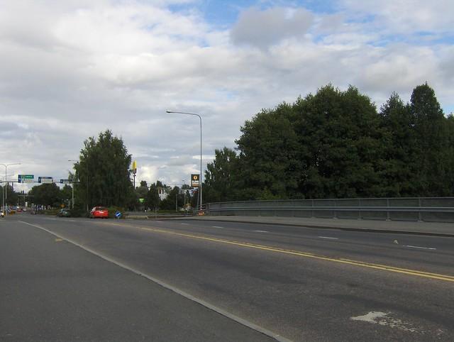 Hämeenlinnan moottoritiekate ja Goodman-kauppakeskus: Työmaan lähtötilanne 3.9.2011 - kuva 7