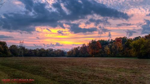 usa fall sunrise landscape geotagged sam unitedstates nashville hiking tennessee hdr whisperinghills photomatix crievehall ellingtonagriculturalcenter miniatureaustralianshepherd canon7d sigma18250mmf3563dcmacrooshsm geo:lat=3606779960 geo:lon=8674414769