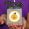 Print these cute lollipop holders for a special Halloween treat! They are free Printables in the Halloween section of my blog. Link in profile:-) #halloween #freeprintable #livinglocurto #candy #treat #cute #printables #kids