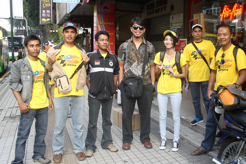 Tour MotoGP Sepang 2014 Bersama BTrav International Group