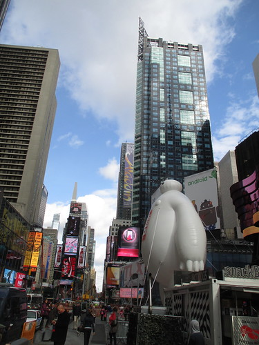 Baymax  Balloon Big Hero 6 Times Square 2014 NYC 0666