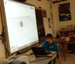Today in our gr. 8 classroom, Jerry, a shy, unassuming student, was happy to take on the