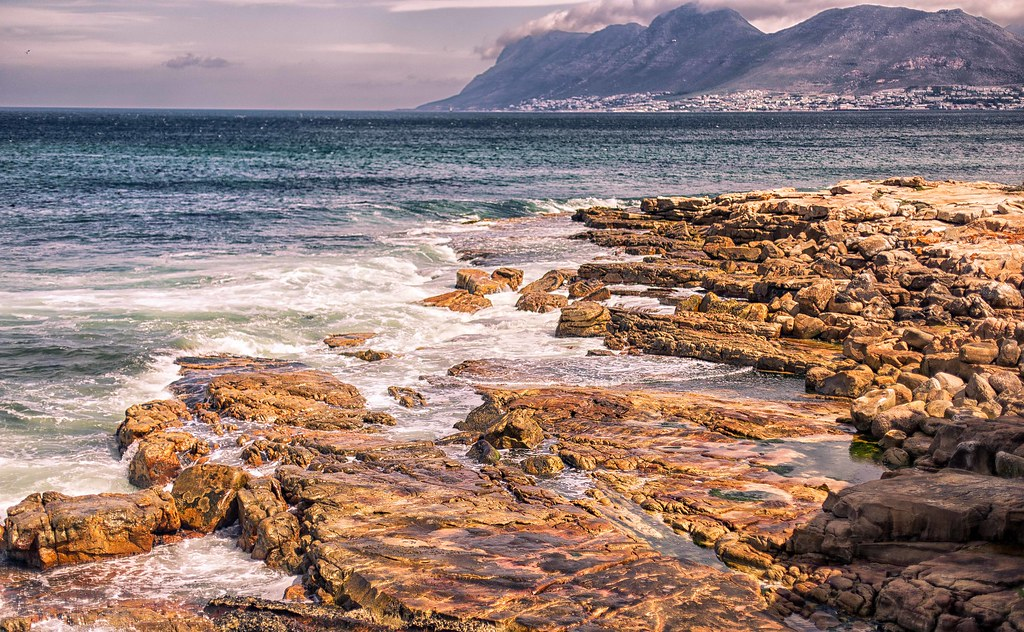 kalk bay coastline