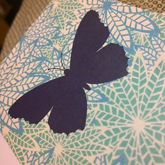 Got a beautiful card today from a Twitter friend. :purple_heart::purple_heart: #infertility #ivffailure