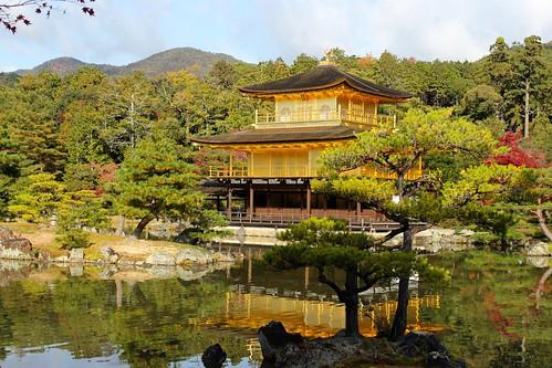 京都:金閣(2014.11.18)