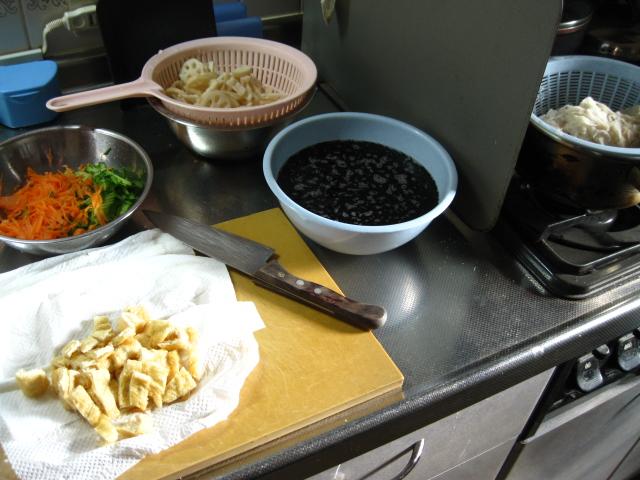 野菜・海草の調理
