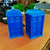 Uh-oh! The 3D printed Tardises are multiplying! #doctorwho
